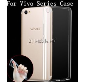 Vivo V5 Plus Soft Transparent Case Slim TPU Cover