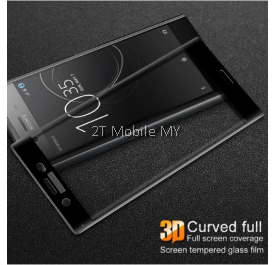 Sony Xperia XZ Premium 3D 2D Curved Full Tempered Glass Screen Protector