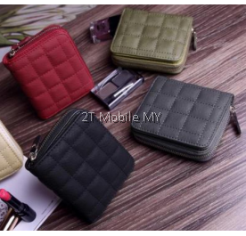 Korea Short Mini Purse Zip Wallet Cute Trendy Bag Fashion