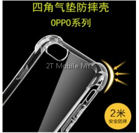 Oppo R11 R11 Plus F3 Transparent TPU Slim Shockproof Phone Mobile Case Bumper