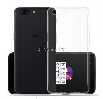 OnePlus Five 1+5 Soft Transparent Case Slim TPU Cover