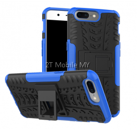 OnePlus Five 1+5 Rugged Combo Kickstand Tough Armor Case Cover