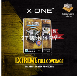 X-One Full Coverage 2.5D Extreme Shock Eliminator Seamless Apple IPhone 7 Plus Screen Protector