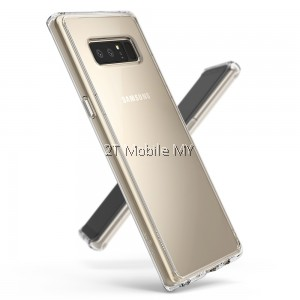 READY STOCK Ringke Fusion Samsung Galaxy Note 8 Bumper Case Casing Cover