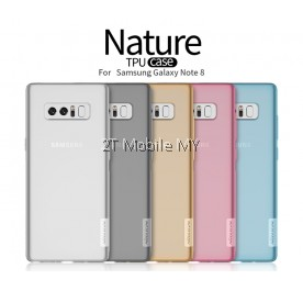 Samsung Galaxy Note 8 Nillkin Nature Case Slim Transparent TPU Cover
