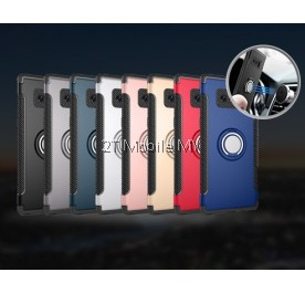 Samsung Note 8 Magnetic Ring Armor Bumper Rugged Trendy Luxury Case Cover