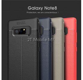 Samsung Galaxy Note 8 Dermatoglyph Case Matte Anti-Fingerprint Bumper Cover