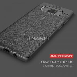 Samsung Galaxy Note 8 Dermatoglyph Case Matte Anti-Fingerprint Bumper Cover