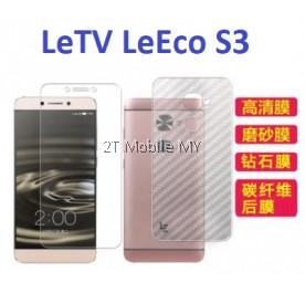 LeTV LeEco S3 Matte Diamond Carbon Screen Protector