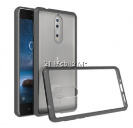 Nokia 8 Protection Air Hybrid TPU Guard Case Slim Case