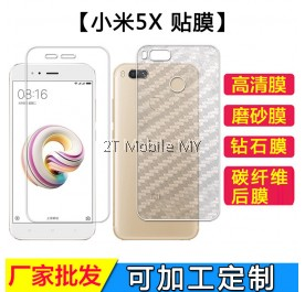 XiaoMi Mi A1 / XiaoMi Mi 5X Matte Diamond Carbon Screen Protector