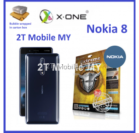 Nokia 8 X-One Extreme Shock Eliminator Screen Protector