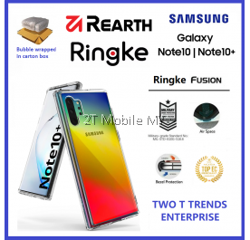 Samsung Galaxy Note 10 / Note 10 Plus / Note 10+ Rearth Ringke Fusion TPU Case Cover ORI