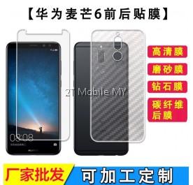 Huawei Nova 2i Matte Diamond Carbon Back Screen Protector