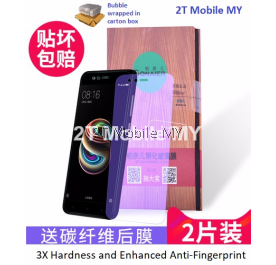 XiaoMi Mi A1 Anti Bluelight Twin Pack Bonaier 2.5D Tempered Glass