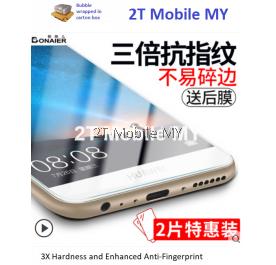 Huawei Nova 2i Twin Pack Bonaier 2.5D Tempered Glass Screen Protector