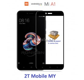 Xiaomi Mi A1 / Mi 5X Full Colour Tempered Glass Screen Protector