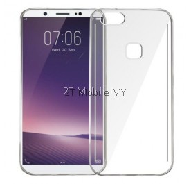 Vivo V7+ V7 Plus Soft Transparent Case Slim TPU Cover