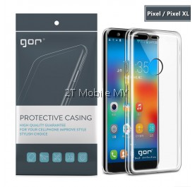 Google Pixel 2 / Pixel 2 XL GOR Case Super Slim Transparent Cover TPU