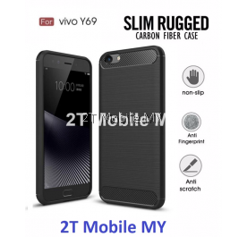 Vivo Y69 Ultra Slim Protection Rugged Armor TPU Case Cover