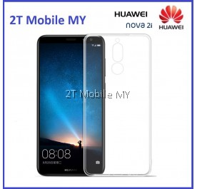 Huawei Nova 2i Soft Transparent Case Slim TPU Cover