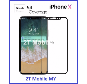 Apple IPhone X Mocolo Full Screen Tempered Glass Screen Protector