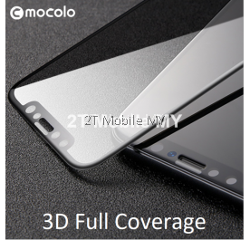 Apple IPhone X 3D Full Cover Curve Mocolo Tempered Glass Screen Protector