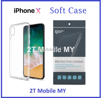 Apple IPhone X GOR Case Super Slim Transparent Cover TPU
