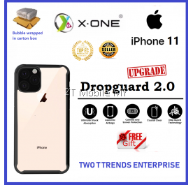Apple iPhone 11 / iPhone 11 Pro / iPhone 11 Pro Max X-One DropGuard 2.0+ Impact Protection Bumper Cover Case