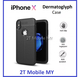 Apple IPhone X Dermatoglyph Case Matte Anti-Fingerprint Bumper Cover