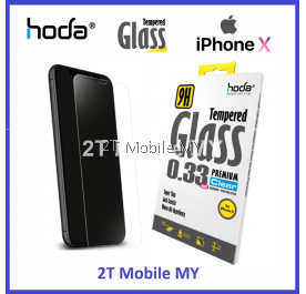 HODA 2.5D iPhone X Case Friendly Tempered Glass