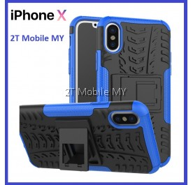 Apple IPhone X Rugged Combo Kickstand Tough Armor Case Cover