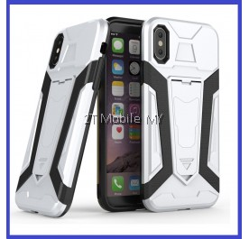 Apple IPhone X Ironman Transformer Kickstand Standable Case