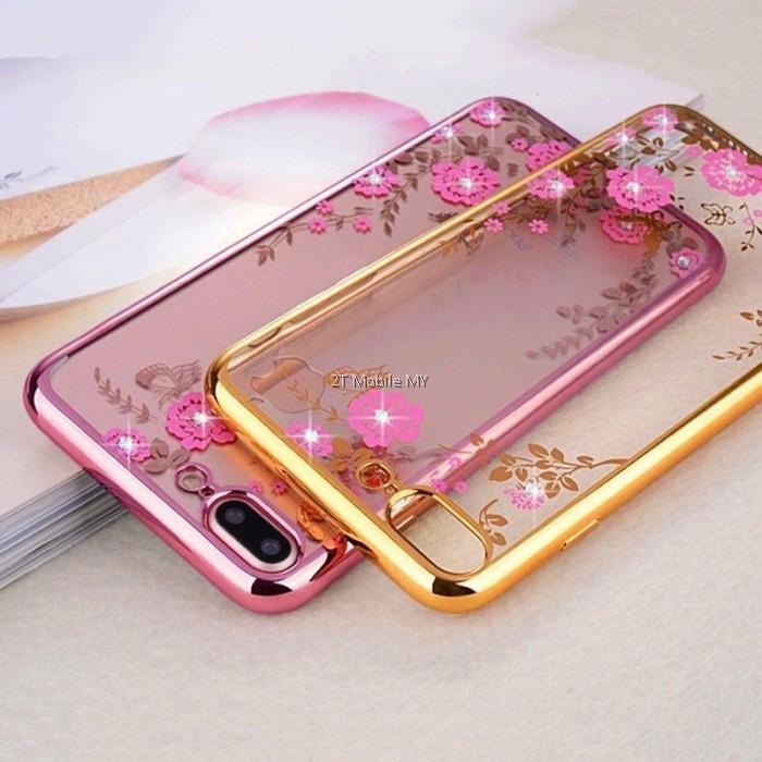 best loved 2a051 9ccab Oppo F5 Diamond Secret Garden TPU Case Cover Bumper