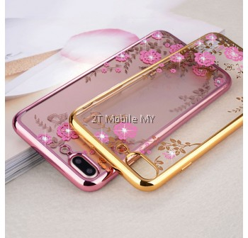 Apple Iphone X Diamond Secret Garden TPU Case Cover Bumper