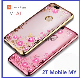 XiaoMi A1 / 5X Diamond Secret Garden TPU Case Cover Bumper