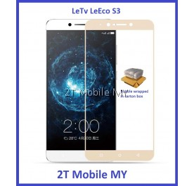 LeTV LeEco S3 Full Colour Tempered Glass Screen Protector