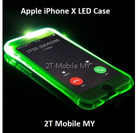 Apple IPhone X LED Light Phone Case Anti Drop Protect Bumper Case