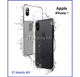 Apple IPhone X 360 Side Full Camera Protection Transparent Case