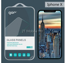 Apple IPhone X GOR Full Tempered Glass Screen Protector 0.2mm 0.1mm