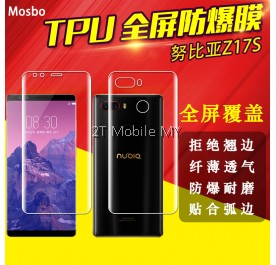 ZTE Nubia Z17S Full Coverage Screen Protector 3D Soft Film