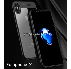 Apple IPhone X iPaky Tough Protection Transparent Case Crystal Bumper