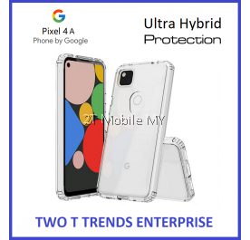 Google Pixel 4A / Pixel 4 / Pixel 4 XL Protection Air Hybrid TPU Guard Transparent Slim Bumper Case