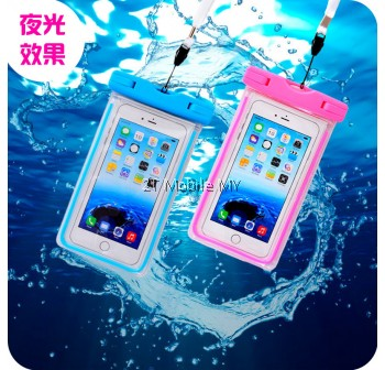 6 Inches Mobile Phone PVC Waterproof Pouch Case Apple Iphone Samsung XiaoMi