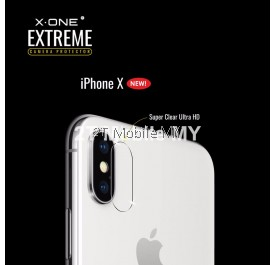 X-One Extreme Camera Lens Protector (2pcs) for Apple Iphone X