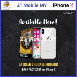 (Back) X-One Extreme Shock Eliminator Screen Protector Apple IPhone X