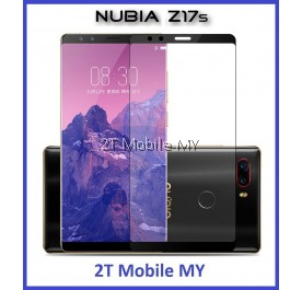 ZTE Nubia Z17S Full Colour Coverage Tempered Glass Screen Protector