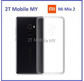XiaoMi Mi Mix 2 Soft Transparent Case Slim TPU Cover