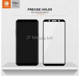 Oppo F5 Mocolo Full Screen Tempered Glass Screen Protector