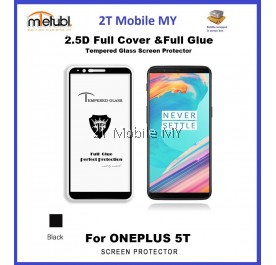 OnePlus 5T 1+5T Full Glue Coverage Tempered Glass Screen Protector